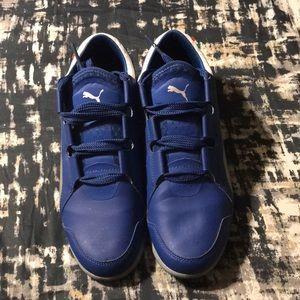 Puma Blue Ferrari sneakers